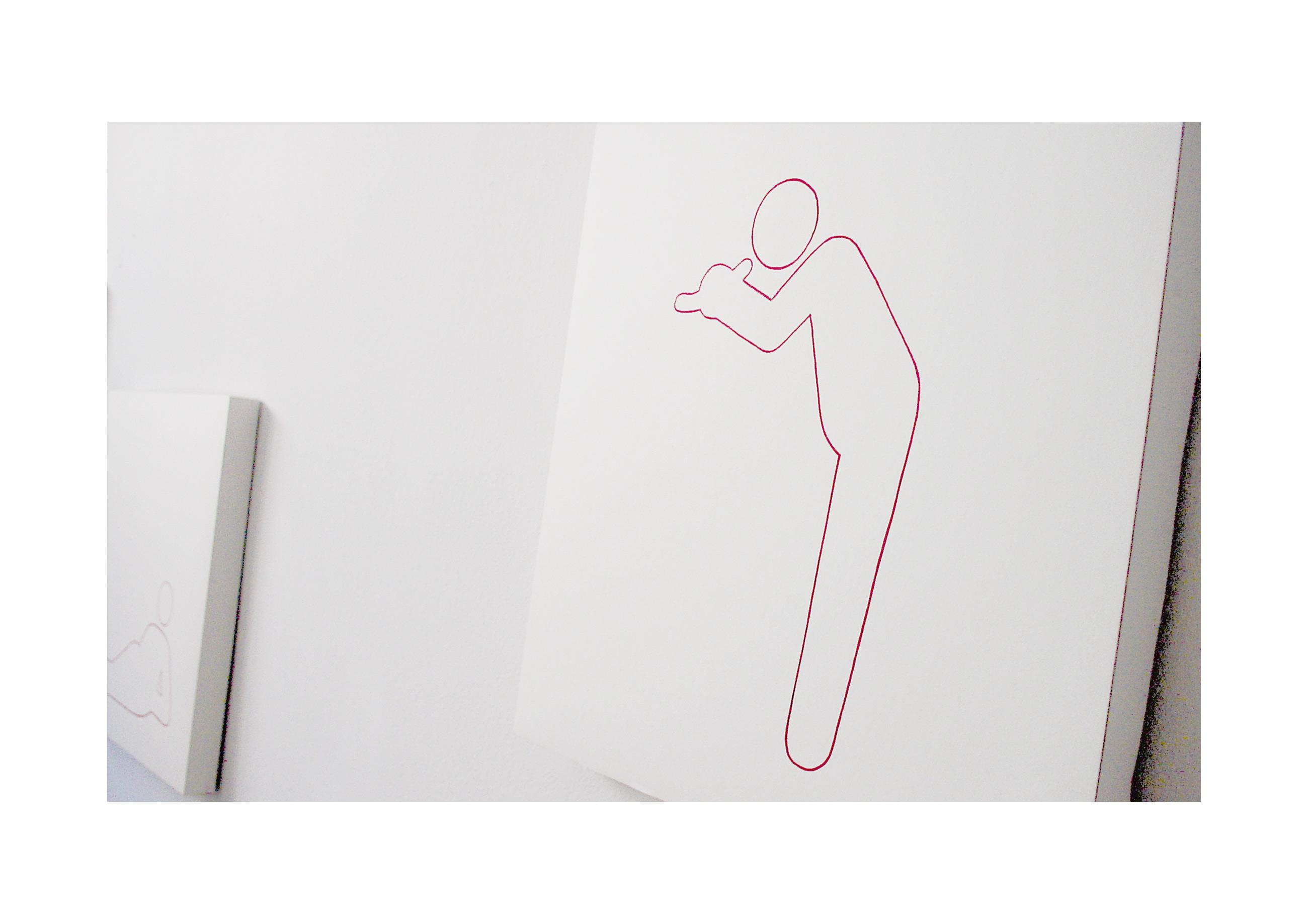 Handgezeichnete Pictogramme