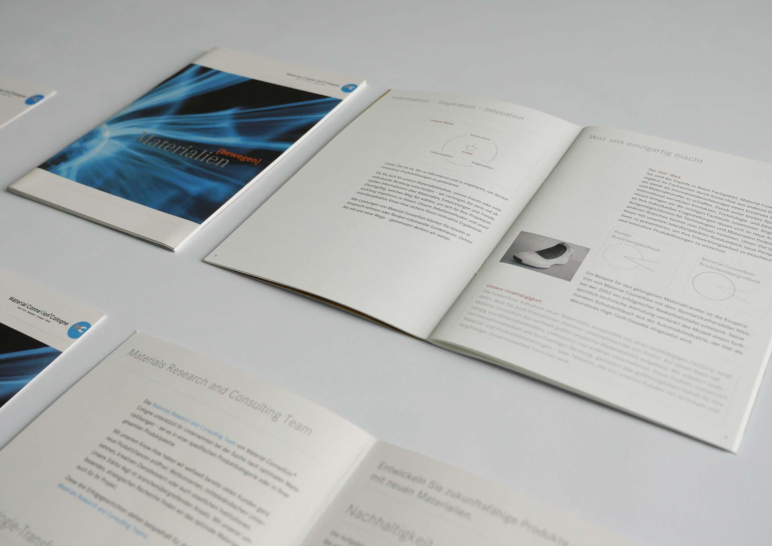 Material ConneXion Cologne Eventmaterial